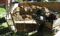 REPLACING A BROKEN SEWER PIPE WITHOUT DIGGING