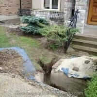REPLACING SEWER LINE - 18